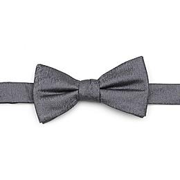 Disney® Aladdin Jafar Writing Motif Men's Bow Tie in Grey