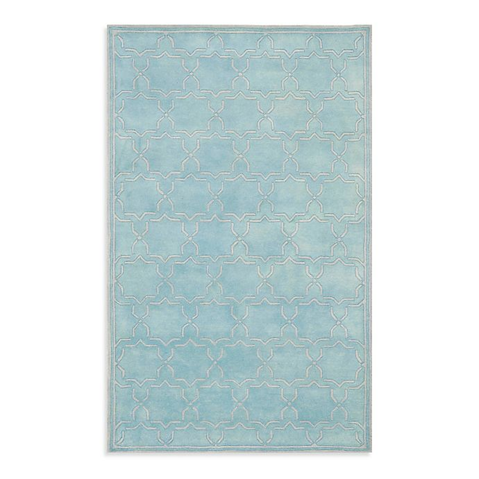 Alternate image 1 for Safavieh Chatham 5-Foot x 8-Foot Rug in Light Blue