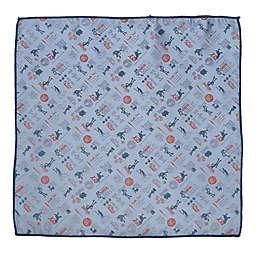 Disney® Toy Story Scattered Motif Pocket Square in Blue
