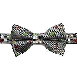 Disney® Toy Story Scattered Motif Boy's Bow Tie in White