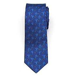 Disney® Aladdin Genie Scattered Boy's Necktie in Blue