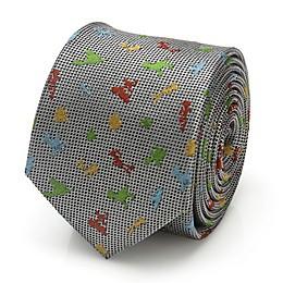 Disney® Toy Story Scattered Motif Boy's Necktie in White