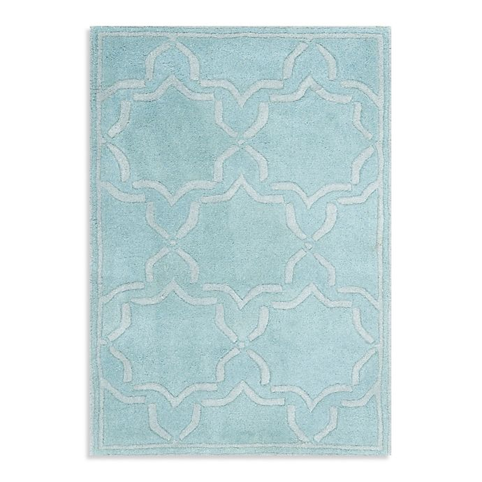 Alternate image 1 for Safavieh Chatham 4-Foot x 6-Foot Rug in Light Blue