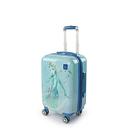 Disney® Frozen 2 Hardside Spinner Carry On Luggage in Royal Blue