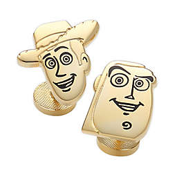 Disney® Toy Story 4 Woody and Buzz Gold-Plated Cufflinks