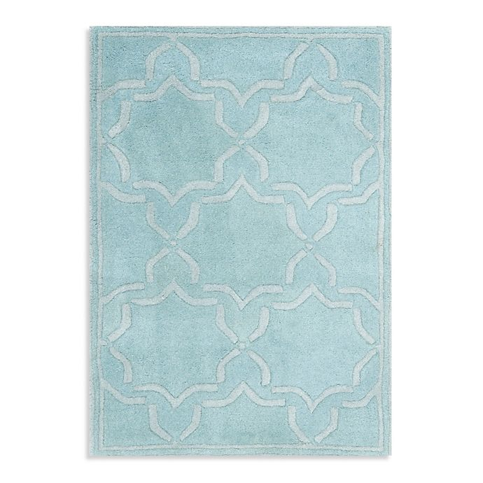Alternate image 1 for Safavieh Chatham 6-Foot x 9-Foot Rug in Light Blue