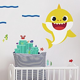 RoomMates® 19-Piece Baby Shark Peel and Stick Giant Wall Decal Set