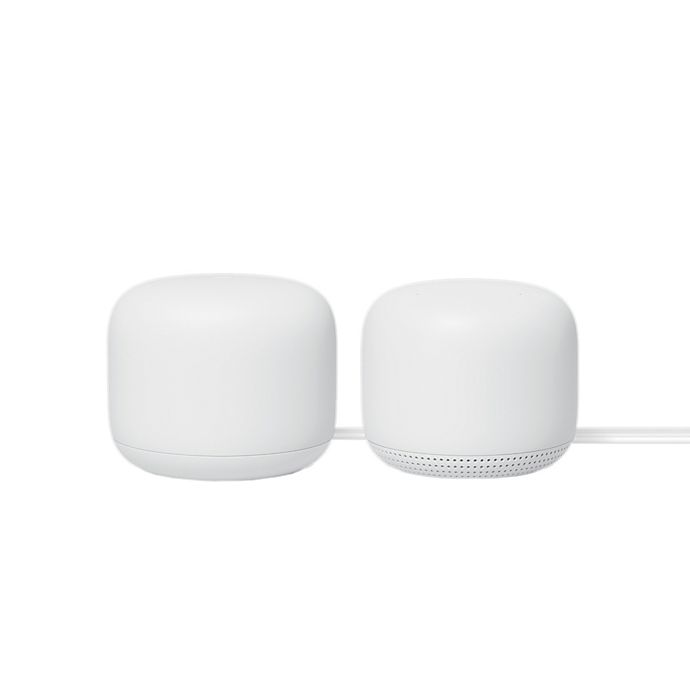Alternate image 1 for Google Nest Wi-Fi Router and 1 Access Point Bundle