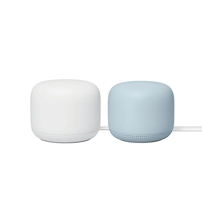 Alternate image 1 for Google Nest Wi-Fi Router and 1 Access Point Bundle in Mist