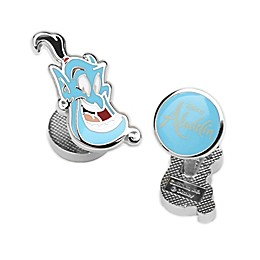Disney® Aladdin Genie Silver-Plated Cufflinks