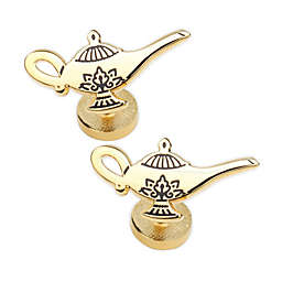 Disney® Aladdin Gold Lamp Gold-Plated Cufflinks