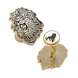 Disney® The Lion King Pair Gold-Plated Cufflinks