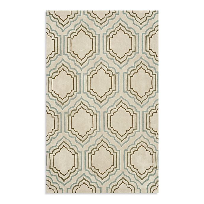 Alternate image 1 for Safavieh Modern Art 8-Foot x 10-Foot Rug in Beige/Multi