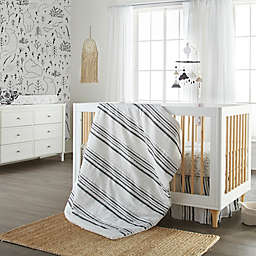 Nest and Nod by Levtex Baby® 4-Piece Crib Bedding Set in Black/White