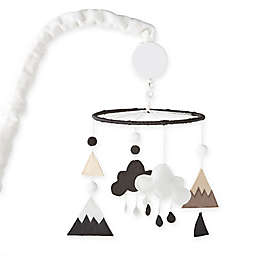 Nest and Nod by Levtex Baby® Musical Mobile in Black/White