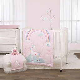 Little Love By NoJo® Rainbow Unicorn 3-Piece Crib Bedding Set in Pink