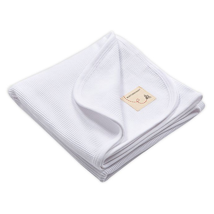 Alternate image 1 for Burt's Bees Baby™ Organic Cotton Thermal Receiving Blanket