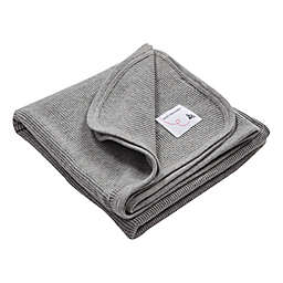 Burt's Bees Baby™ Organic Cotton Thermal Receiving Blanket in Heather Grey