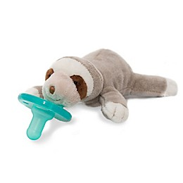 Wubbanub® Baby Sloth Infant Pacifer in Tan