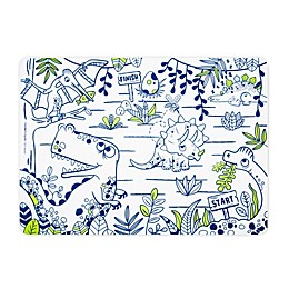 Modern Twist® Reusable Dinosaur Placemat in Clear