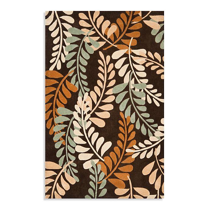 Alternate image 1 for Safavieh Modern Art 4-Foot x 6-Foot Rug in Brown/Beige