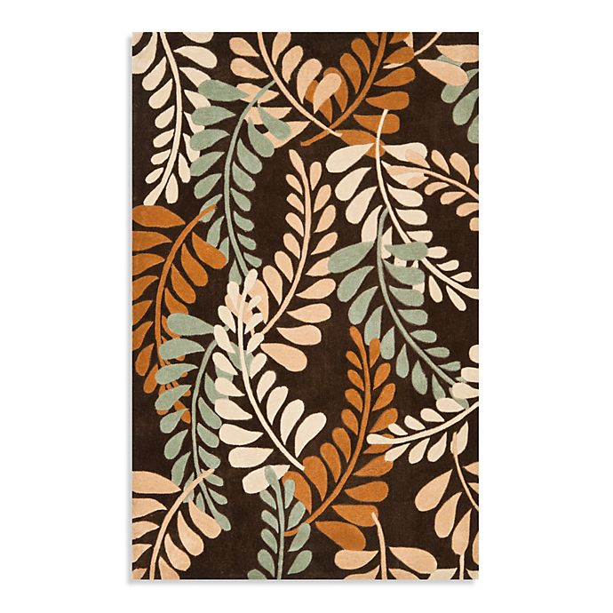 Alternate image 1 for Safavieh Modern Art Rug in Brown/Beige