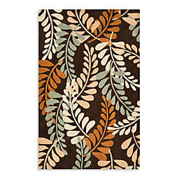 Safavieh Modern Art 5-Foot x 8-Foot Rug in Brown/Beige