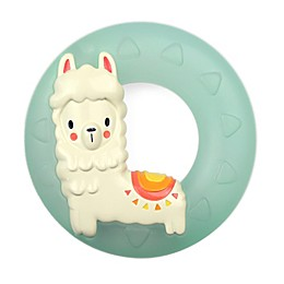 Itzy Ritzy® Llama Cooling Teething Ring in Blue/White