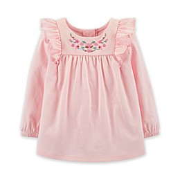 OshKosh B'gosh® Embroidered Amour Shirt in Pink