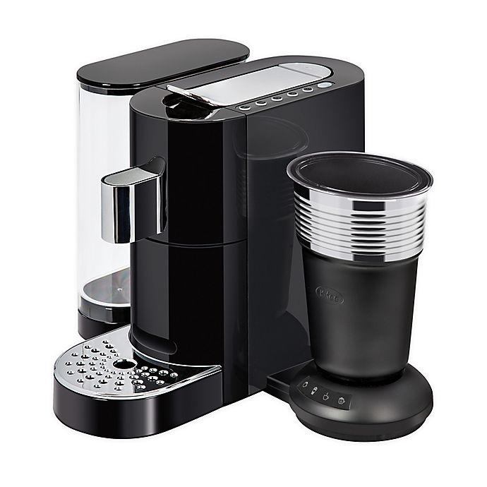 Alternate image 1 for K-fee® Twins II Single Serve Brewer & Latte Machine in Black