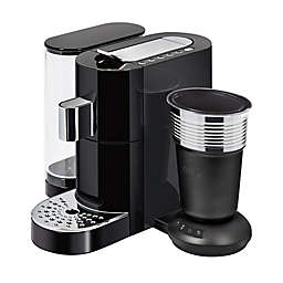 K-fee® Twins II Single Serve Brewer & Latte Machine in Black