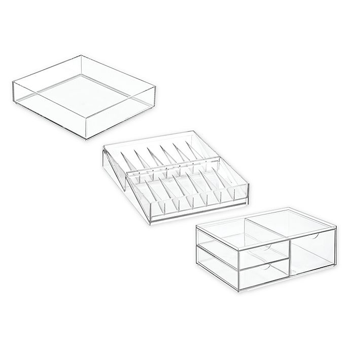 Alternate image 1 for iDesign™ Cosmetic Organizer Collection