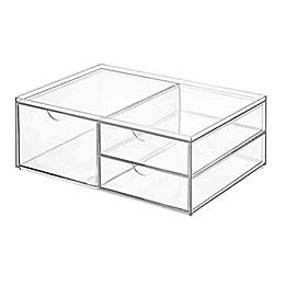 iDesign™ Cosmetic 3 Drawer Wide Organizer