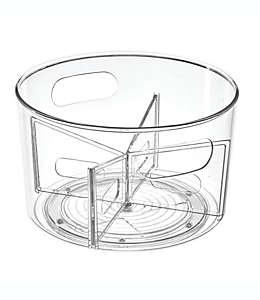 Organizador giratorio iDesign® para cosméticos/artículos de tocador