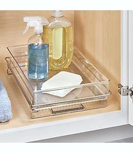 Charola deslizable iDesign® Undersink™ para debajo del fregadero