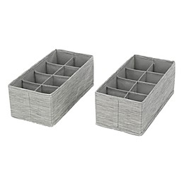 ORG 8-Section Drawer Organizers (Set of 2)