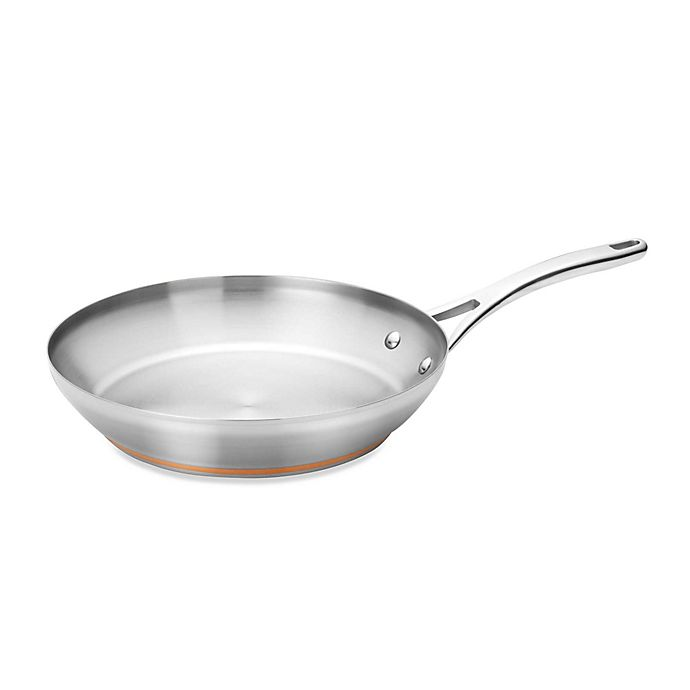 Alternate image 1 for Anolon® Nouvelle Copper Stainless Steel French Skillet