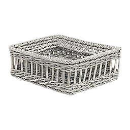 Baum Polethy Faux Wicker Baskets (Set of 3)