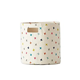 pehr Rainbow Jacks Canvas Storage Bin