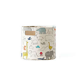 pehr Noah's Ark Pint Canvas Storage Bin
