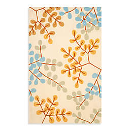 Safavieh Modern Art 5-Foot x 8-Foot  Rug in Ivory/Multi