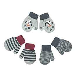 Toby Fairy 3-Pack Puppy Gripper Mittens in Cloud