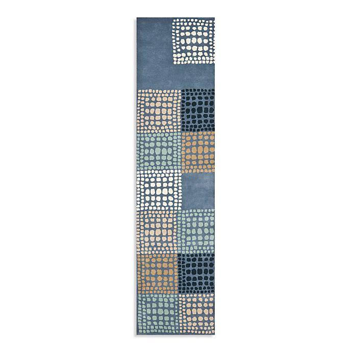 Alternate image 1 for Safavieh Wyndham Gia 2-Foot 3-Inch x 9-Foot  Hand-Tufted Wool Runner in Grey/Multi