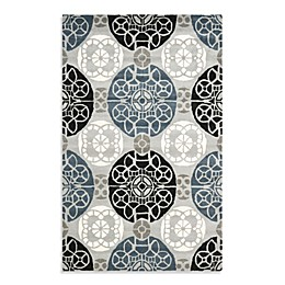 Safavieh Wyndham Irina Hand-Tufted Wool Rug in Grey/Black