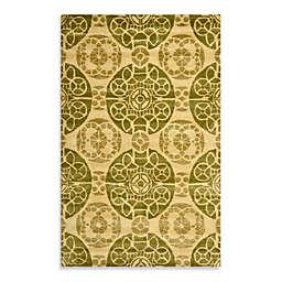 Safavieh Wyndham Irina Hand-Tufted Wool Rug in Honey/Green