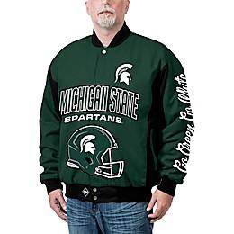 Michigan State University Top Dog Twill Jacket
