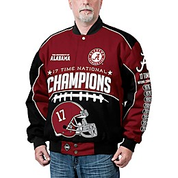 University of Alabama Men's Commemorative Cotton Twill Jacket