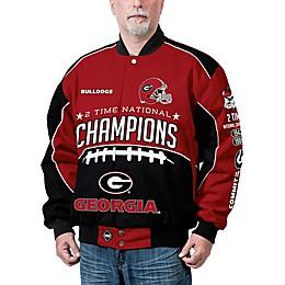 University of Georgia Men's Commemorative Cotton Twill Jacket