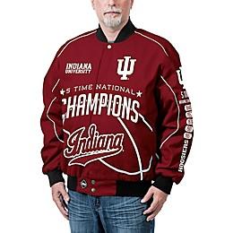 Indiana University Men's Commemorative Cotton Twill Jacket
