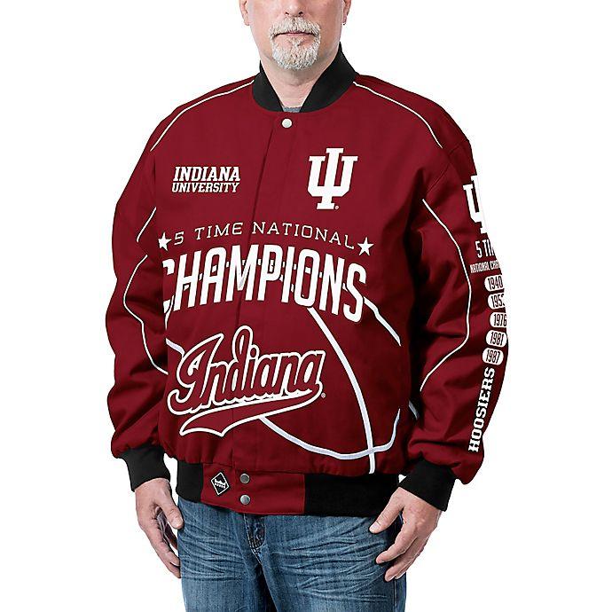 Alternate image 1 for Indiana University Men's Commemorative Cotton Twill Jacket